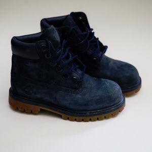 Navy Blue Timberland Boot